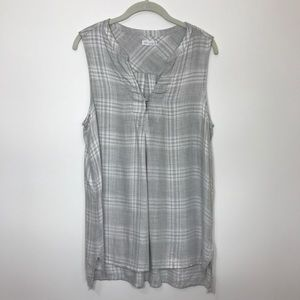 Gentle Fawn Plaid Top